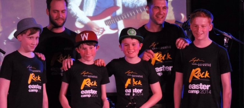 Winners of the Easter Rock camp 2014