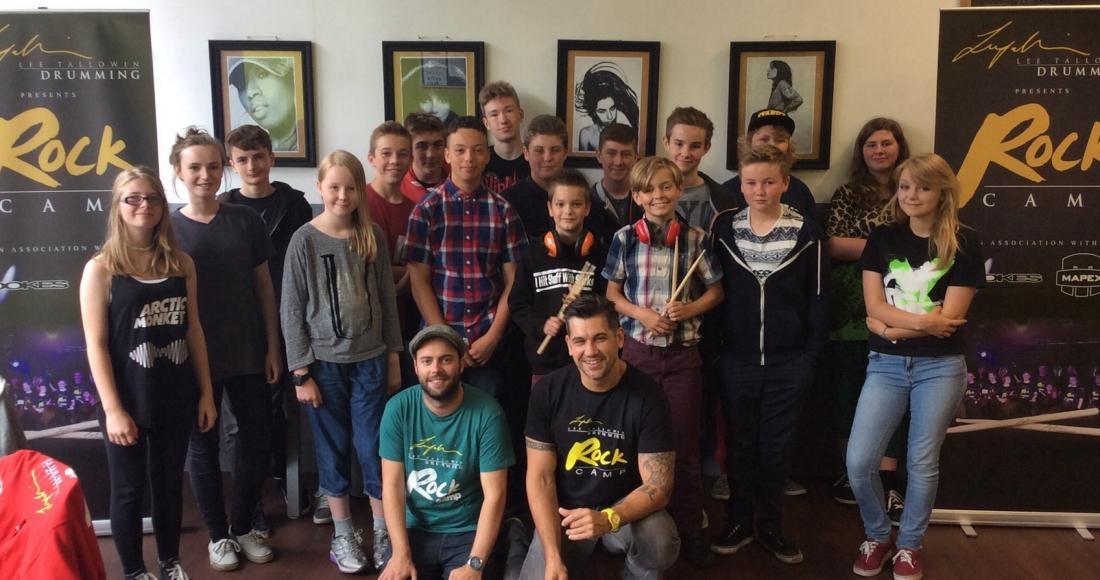 Summer Rock camp week 2015